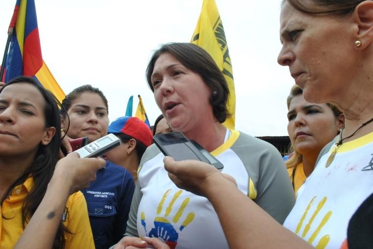 thumbnail_Amelia Belisario- Marcha de Mujeres- Primero Justicia Zulia-