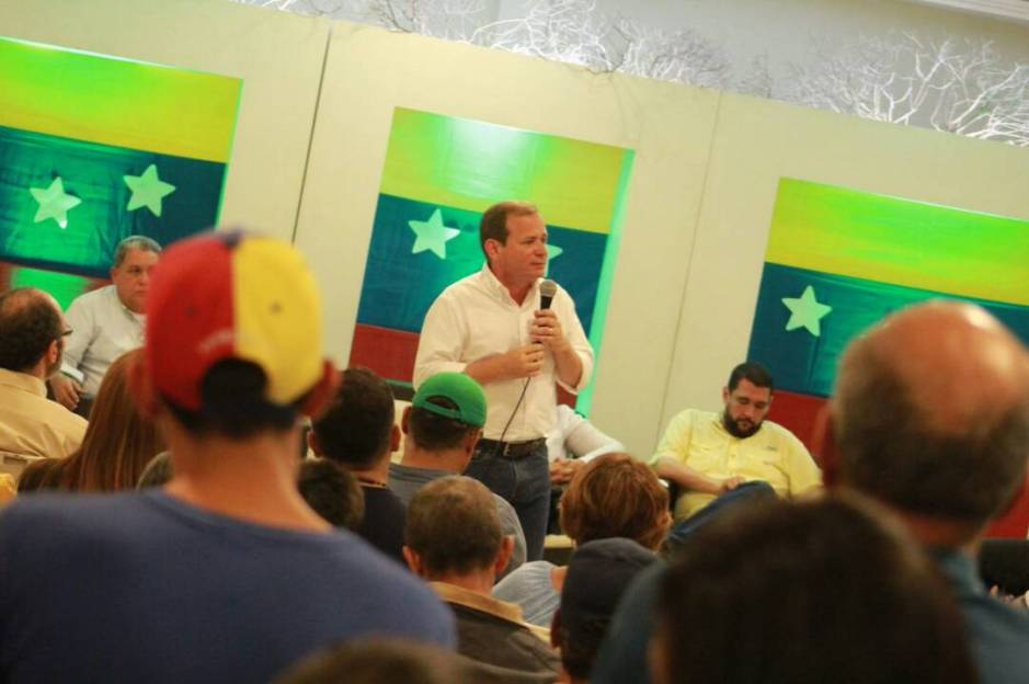 Guanipa, gira nacional Frente Amplio Venezuela Libre